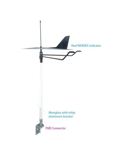 Masthead VHF antenna 50 cm WITH WINDEX