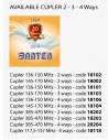 VHF LARGE BAND DIPOLE 136-146 Mhz